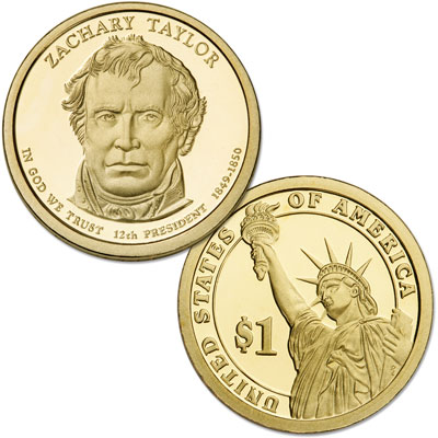 Image for 2009-S Zachary Taylor Presidential Dollar from Littleton Coin Company