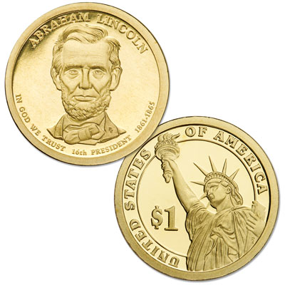 Image for 2010-S Abraham Lincoln Presidential Dollar, Choice Proof, PR63 from Littleton Coin Company