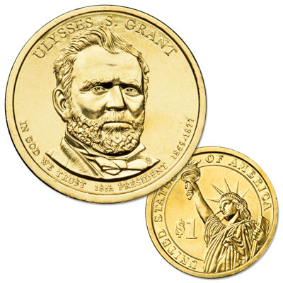 Image for 2011-P Ulysses S. Grant Presidential Dollar from Littleton Coin Company