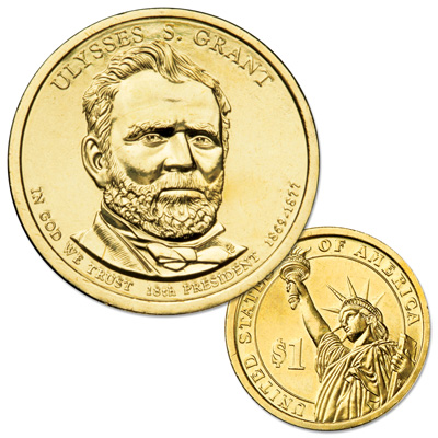 Image for 2011-D Ulysses S. Grant Presidential Dollar from Littleton Coin Company
