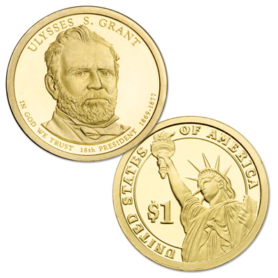 Image for 2011-S Ulysses S. Grant Presidential Dollar from Littleton Coin Company
