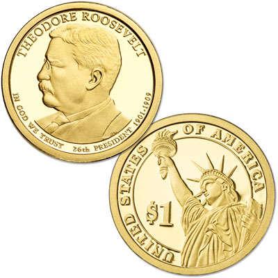 Image for 2013-S Theodore Roosevelt Presidential Dollar from Littleton Coin Company