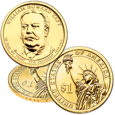 Image for 2013-D William Howard Taft Presidential Dollar from Littleton Coin Company