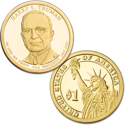 Image for 2015-S Harry S. Truman Presidential Dollar from Littleton Coin Company