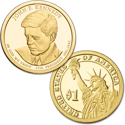 Image for 2015-S John F. Kennedy Presidential Dollar from Littleton Coin Company