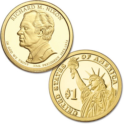 Image for 2016-S Richard M. Nixon Presidential Dollar from Littleton Coin Company