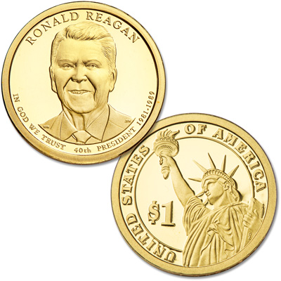 Image for 2016-S Ronald Reagan Presidential Dollar from Littleton Coin Company