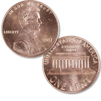 Image for 2007 Lincoln Head Cent from Littleton Coin Company