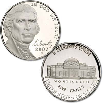 Image for 2007-S Jefferson Nickel from Littleton Coin Company