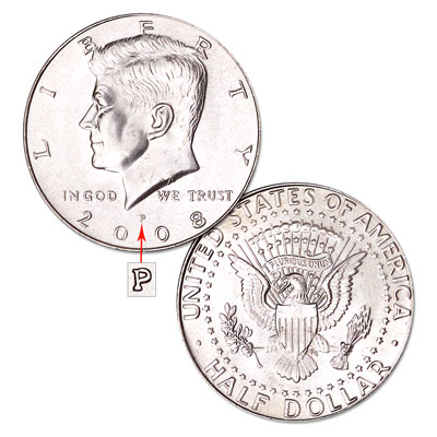 Image for 2008-P Kennedy Half Dollar from Littleton Coin Company