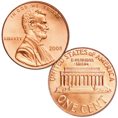 Image for 2008 Lincoln Head Cent from Littleton Coin Company