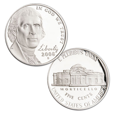 Image for 2008-S Jefferson Nickel from Littleton Coin Company