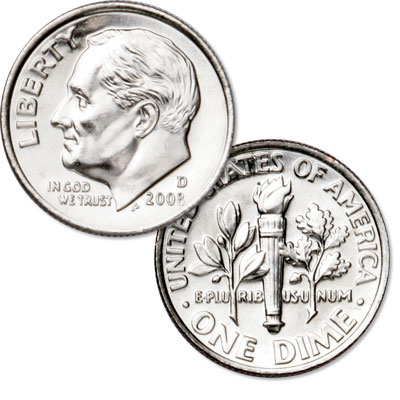Image for 2008-D Roosevelt Dime from Littleton Coin Company