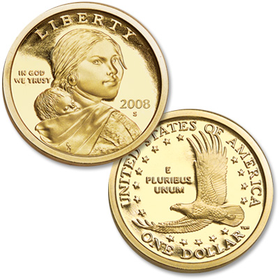 Image for 2008-S Sacagawea Dollar from Littleton Coin Company