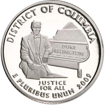 Image for 2009-S District of Columbia Territories Quarter, Choice Proof, PR63 from Littleton Coin Company