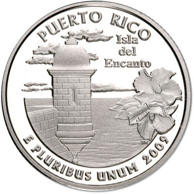 Image for 2009-S Puerto Rico Territories Quarter, Choice Proof, PR63 from Littleton Coin Company