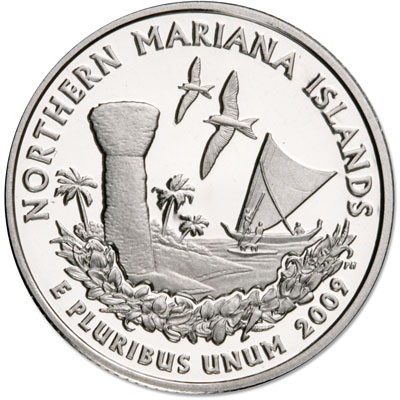 Image for 2009-S Northern Mariana Islands Territories Quarter, Choice Proof, PR63 from Littleton Coin Company
