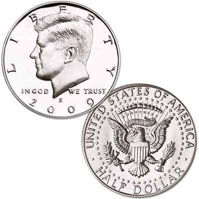 Image for 2009-S 90% Silver Kennedy Half Dollar, Choice Proof, PR63 from Littleton Coin Company