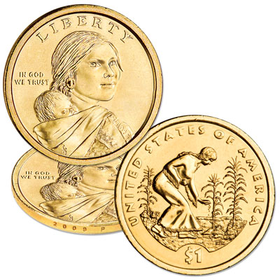 Image for 2009-P Native American Dollar from Littleton Coin Company