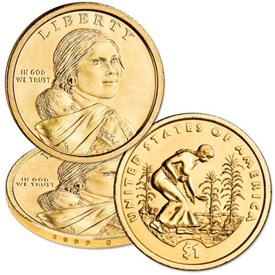 Image for 2009-D Native American Dollar from Littleton Coin Company