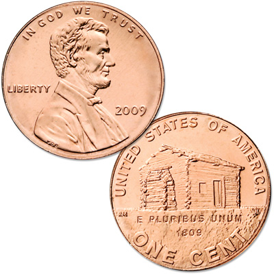 Image for 2009 Lincoln Birthplace Cent, Uncirculated, MS60 from Littleton Coin Company