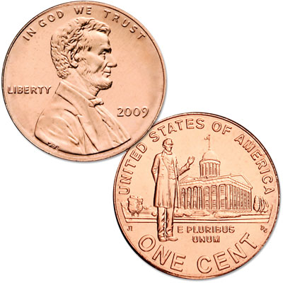 Image for 2009-P Lincoln Professional Life Cent, Uncirculated, MS60 from Littleton Coin Company