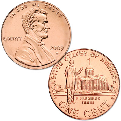 Image for 2009-D Lincoln Professional Life Cent, Uncirculated, MS60 from Littleton Coin Company