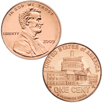 Image for 2009-P Lincoln Presidency Cent, Uncirculated, MS60 from Littleton Coin Company