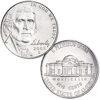 Image for 2009-D Jefferson Nickel from Littleton Coin Company