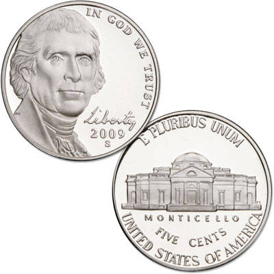 Image for 2009-S Jefferson Nickel from Littleton Coin Company