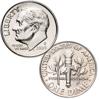 Image for 2009-D Roosevelt Dime from Littleton Coin Company