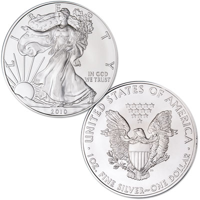 Image for 2010 $1 Silver American Eagle, Uncirculated from Littleton Coin Company