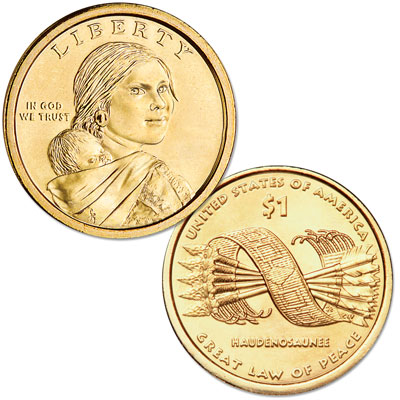 Image for 2010-D Native American Dollar from Littleton Coin Company