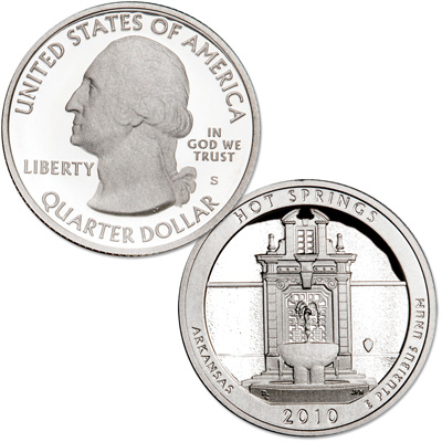 Image for 2010-S Hot Springs National Park Quarter from Littleton Coin Company