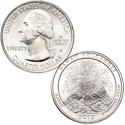 Image for 2012-P Hawai'i Volcanoes National Park Quarter from Littleton Coin Company