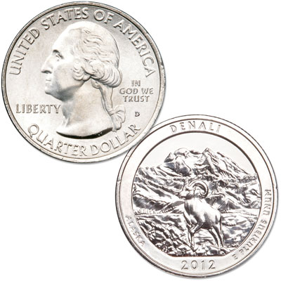Image for 2012-D Denali National Park & Preserve Quarter from Littleton Coin Company