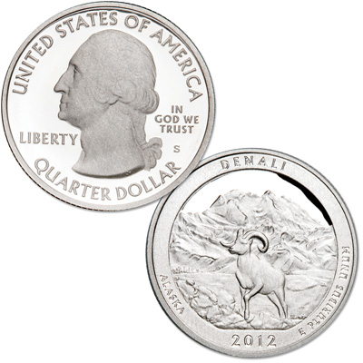 Image for 2012-S Denali National Park & Preserve Quarter from Littleton Coin Company