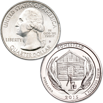 Image for 2015-D Homestead National Monument of America Quarter from Littleton Coin Company