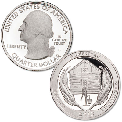 Image for 2015-S Homestead National Monument of America Quarter from Littleton Coin Company