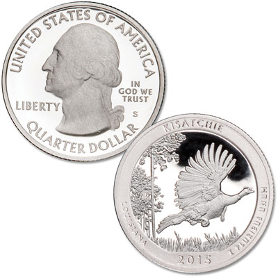 Image for 2015-S Kisatchie National Forest Quarter from Littleton Coin Company