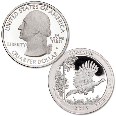 Image for 2015-S 90% Silver Kisatchie National Forest Quarter from Littleton Coin Company