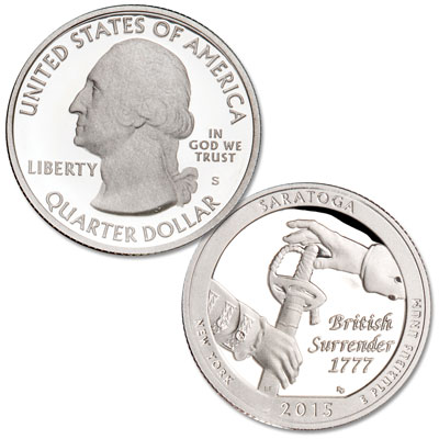 Image for 2015-S Saratoga National Park Quarter from Littleton Coin Company