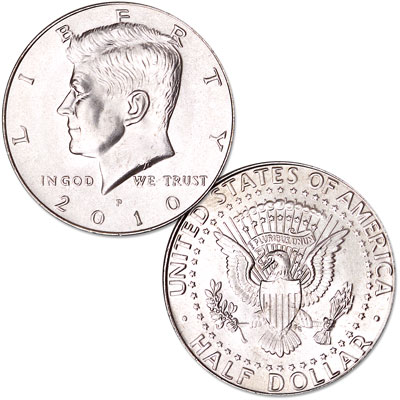 Image for 2010-P Kennedy Half Dollar from Littleton Coin Company