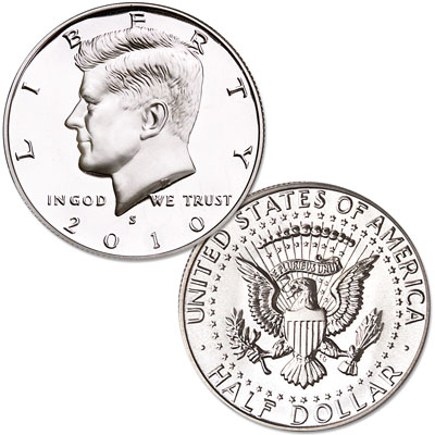 Image for 2010-S Kennedy Half Dollar, Choice Proof, PR63 from Littleton Coin Company