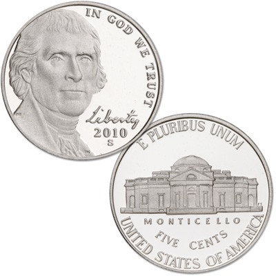 Image for 2010-S Jefferson Nickel from Littleton Coin Company