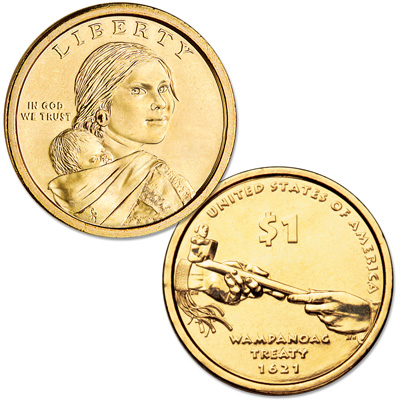 Image for 2011-D Native American Dollar from Littleton Coin Company