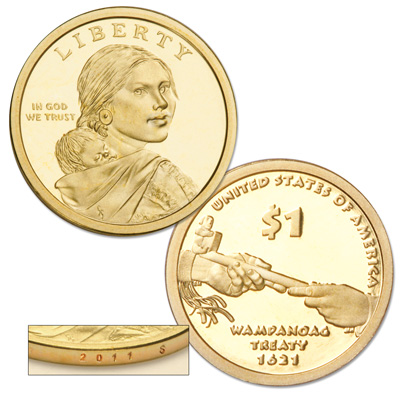 Image for 2011-S Native American Dollar from Littleton Coin Company