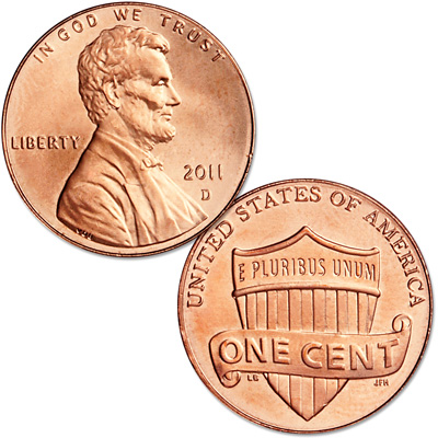 Image for 2011-D Lincoln Head Cent from Littleton Coin Company