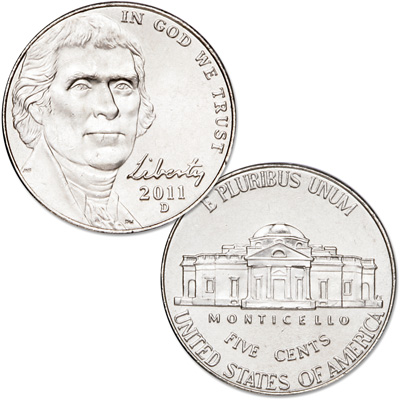 Image for 2011-D Jefferson Nickel from Littleton Coin Company