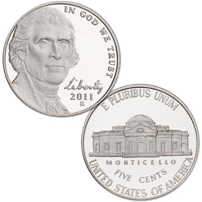 Image for 2011-S Jefferson Nickel from Littleton Coin Company